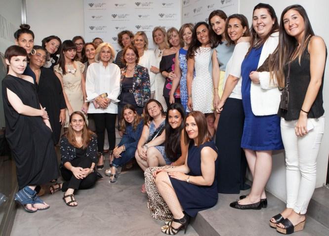Brunch de la Asociación Española del Lujo ¡Gracias a Carmen Lomana!