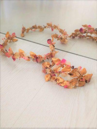 tocado de novia flores lamatte