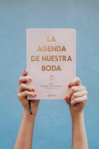 La agenda de nuestra boda, de Bodas de Cuento, ideal para las novias más chic y organizadas