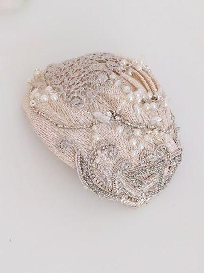 casquete de novia vintage